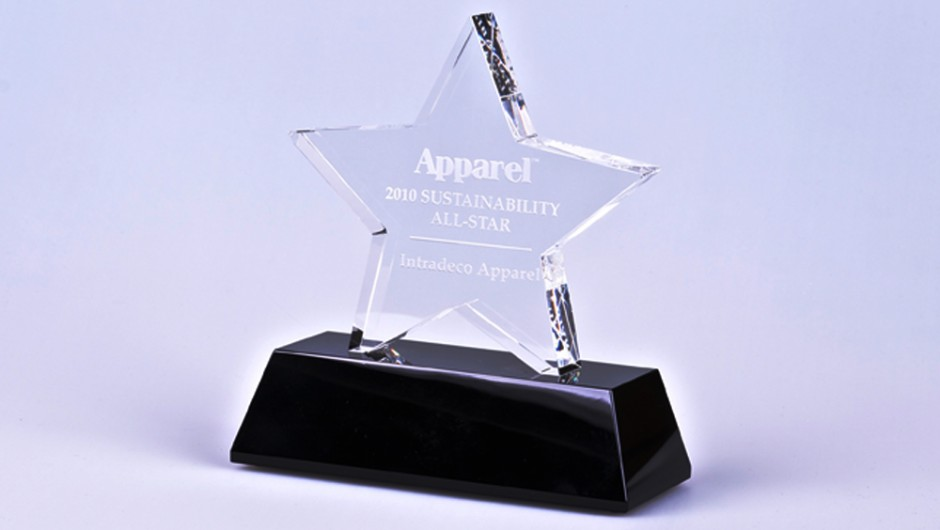 Apparel Magazine Names Intradeco Apparel for Best Practices in Sustainability