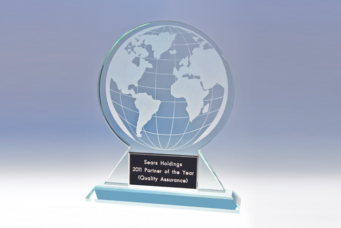 Intradeco Apparel Earns Sears Holdings' 2011 Partner of the Year Award for Quality Assurance